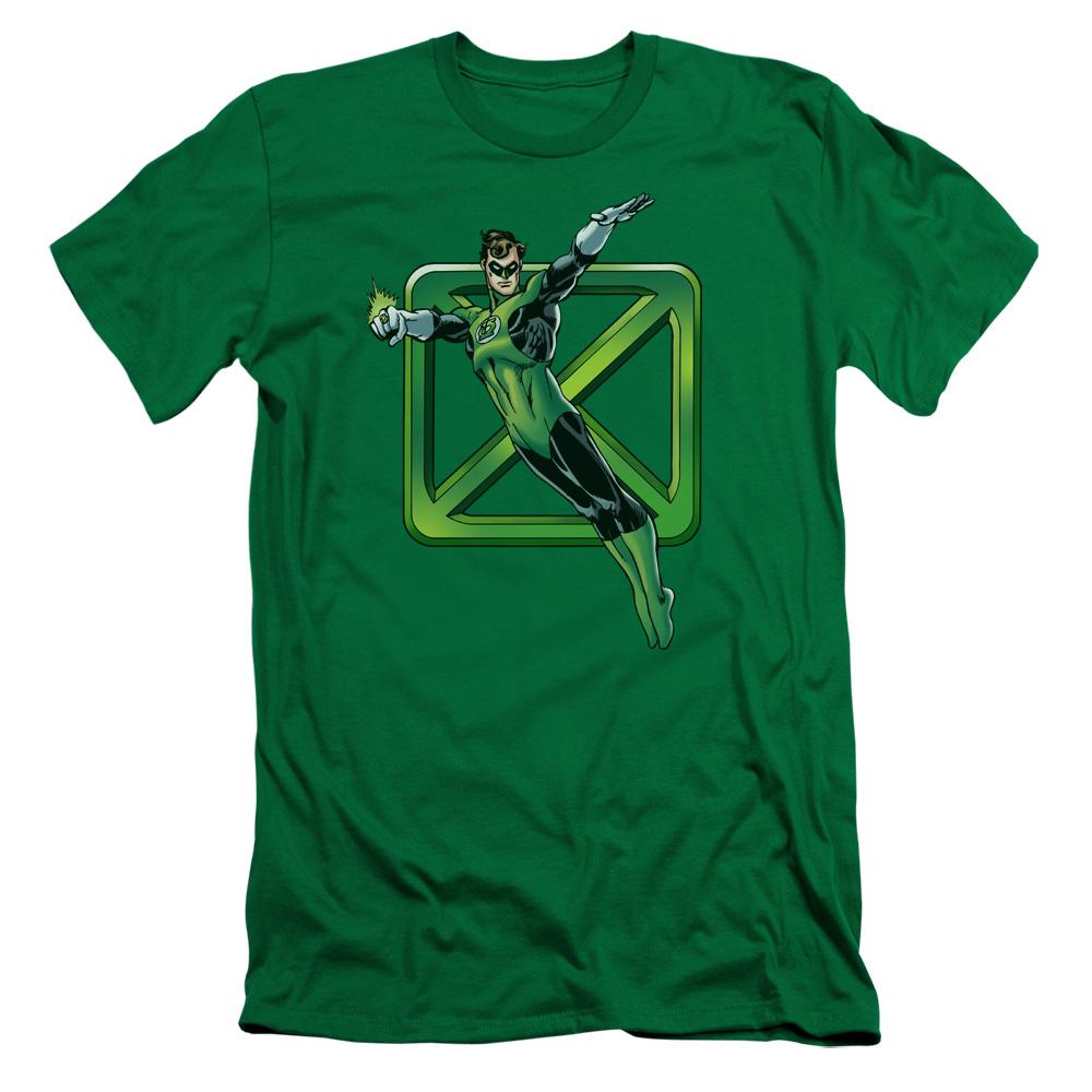 Green Lantern Green Cross Slim Fit T-Shirt