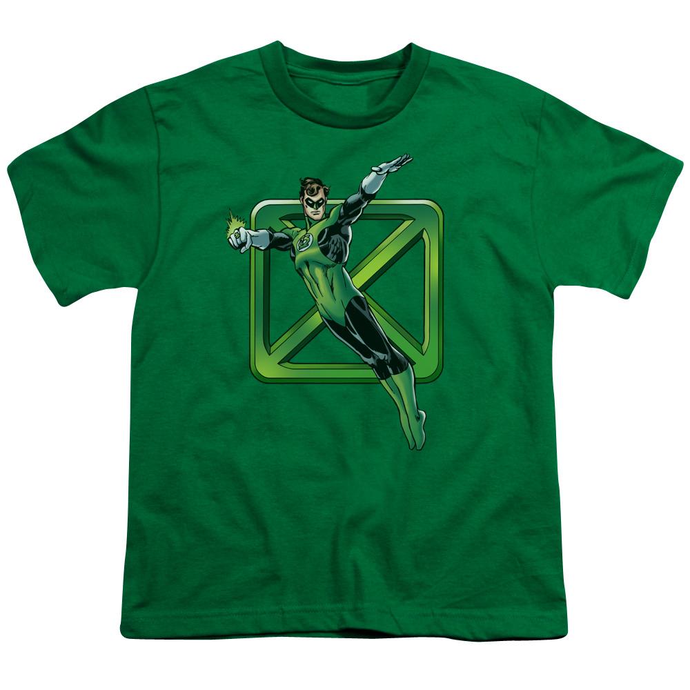 Green Lantern Green Cross Kids T-Shirt
