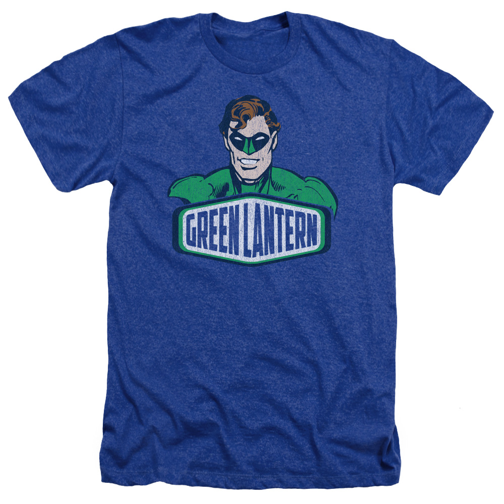Green Lantern Sign Heather T-Shirt