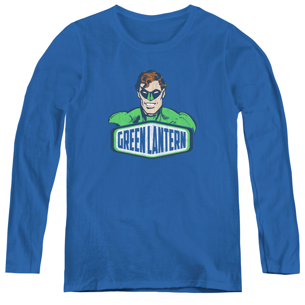 Green Lantern Sign Women's Long Sleeve Shirt
