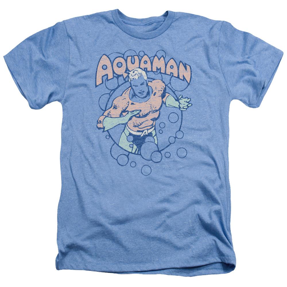 Aquaman Bubbles  Heather T-Shirt