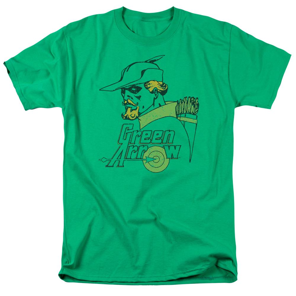 Green Arrow Close Up Classic T-Shirt