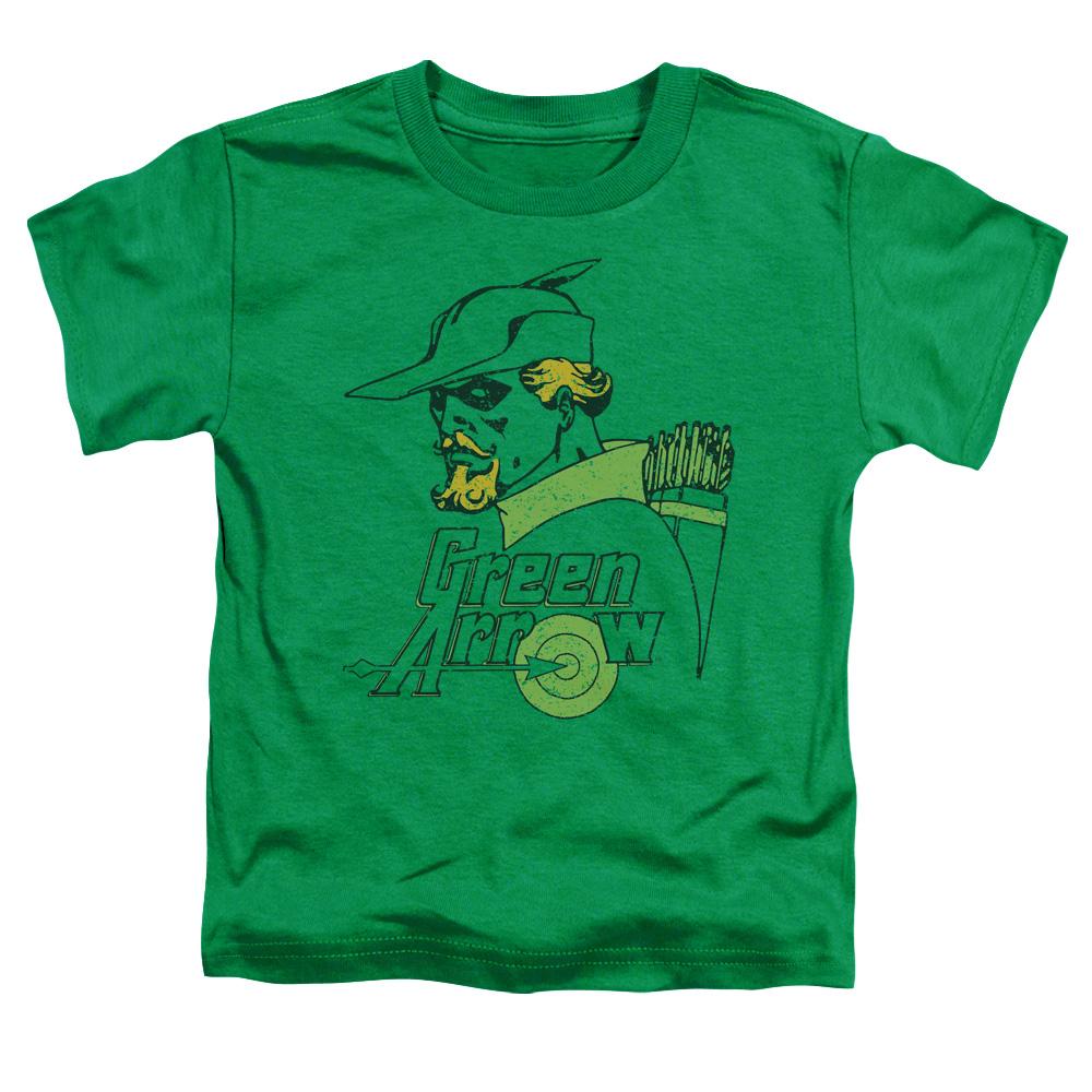 Green Arrow Close Up Classic Toddler T-Shirt