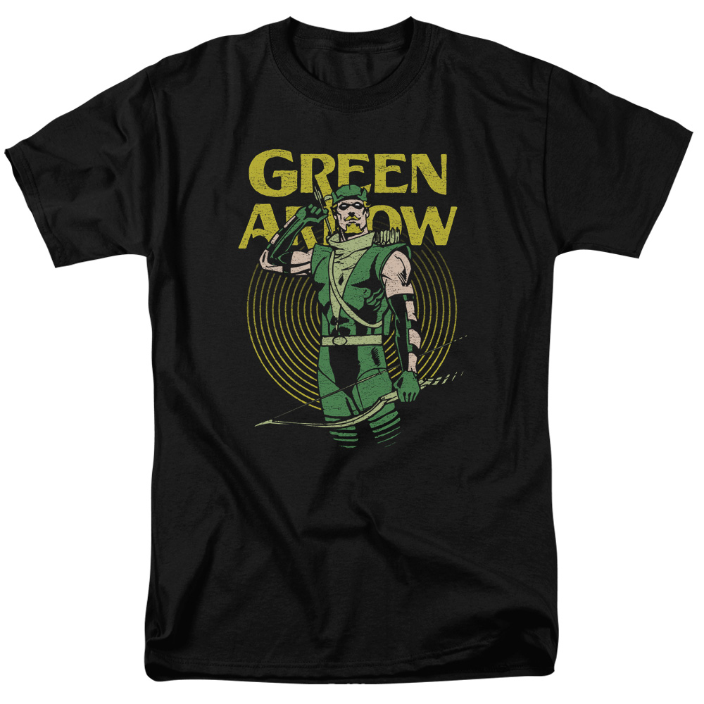 Green Arrow Pull Retro T-Shirt