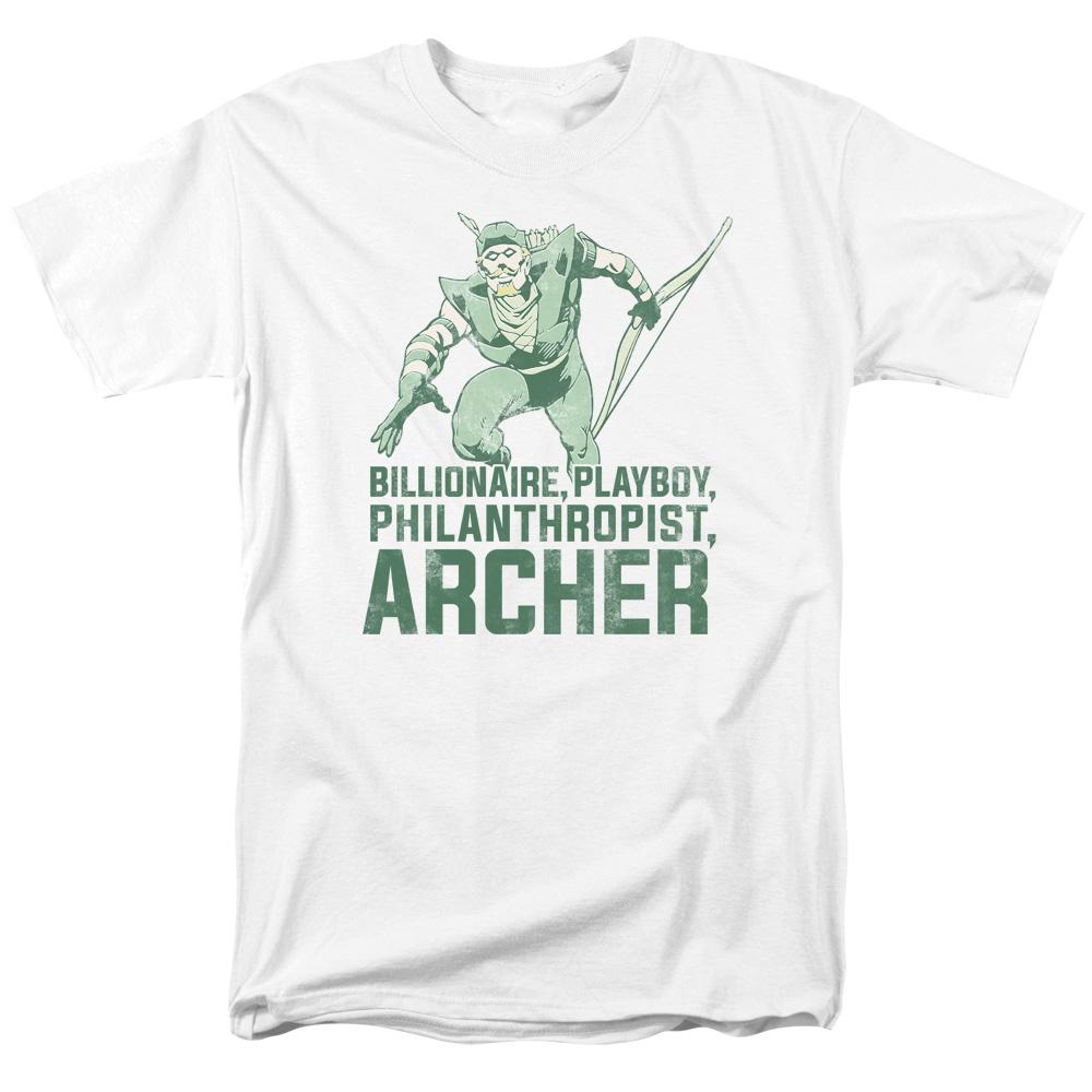 Green Arrow Archer  T-Shirt