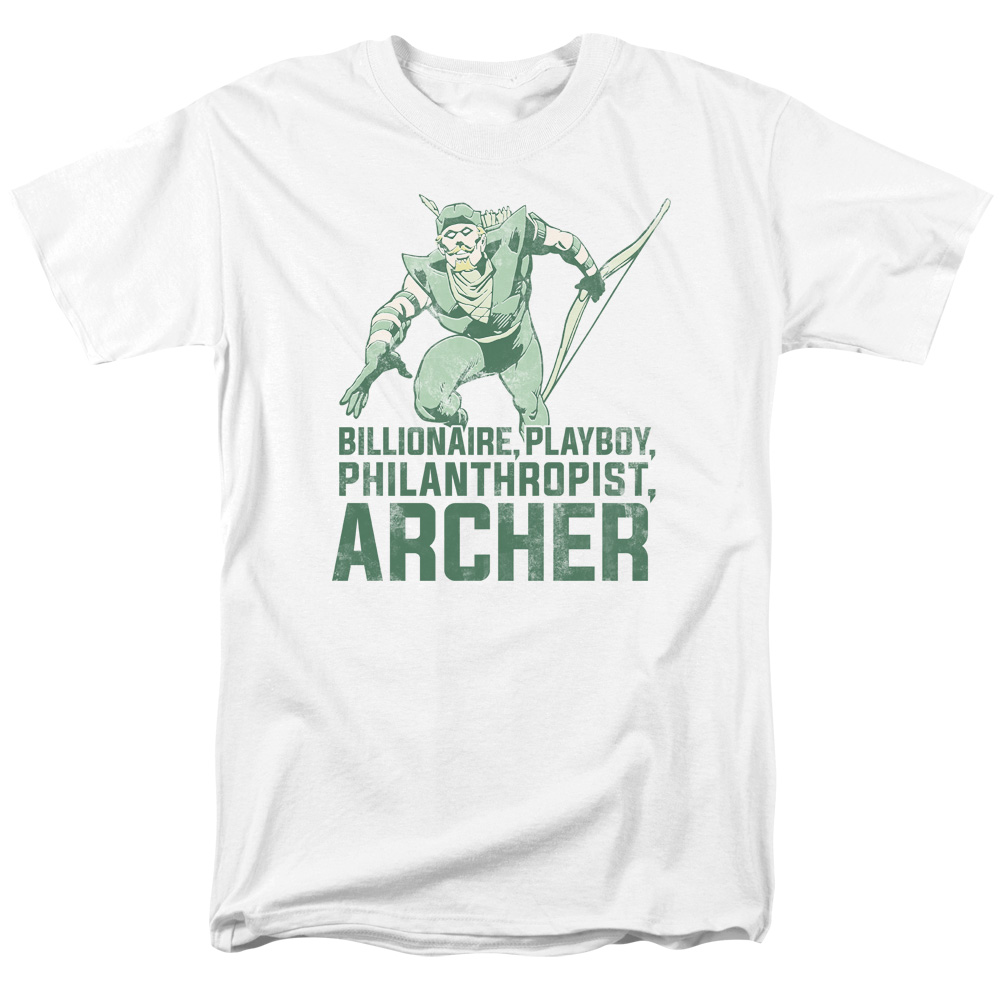 Green Arrow Archer  T-Shirt