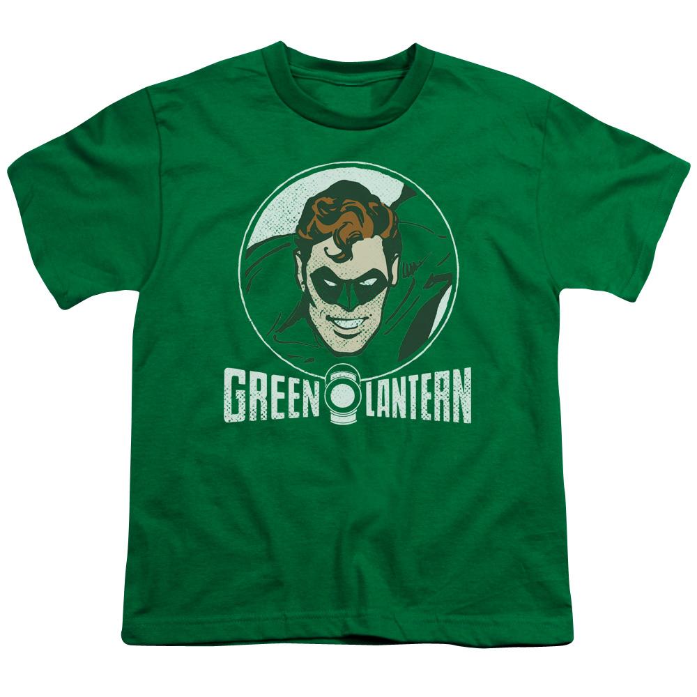 Green Lantern Circle Kids T-Shirt