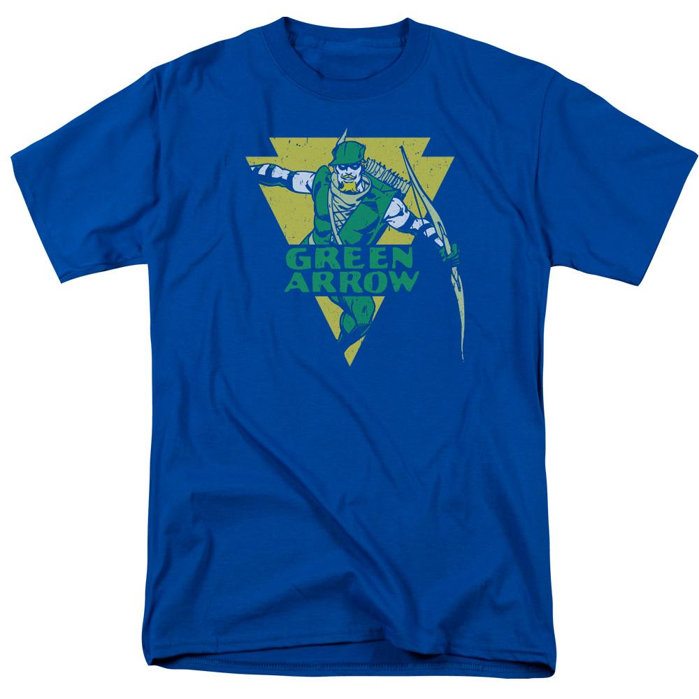 Green Arrow Distressed Arrow T-Shirt