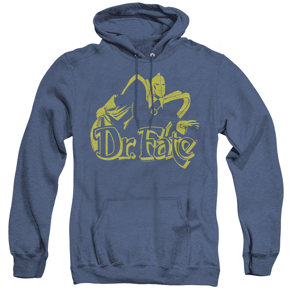 Dr. Fate Adult Heather Hoodie