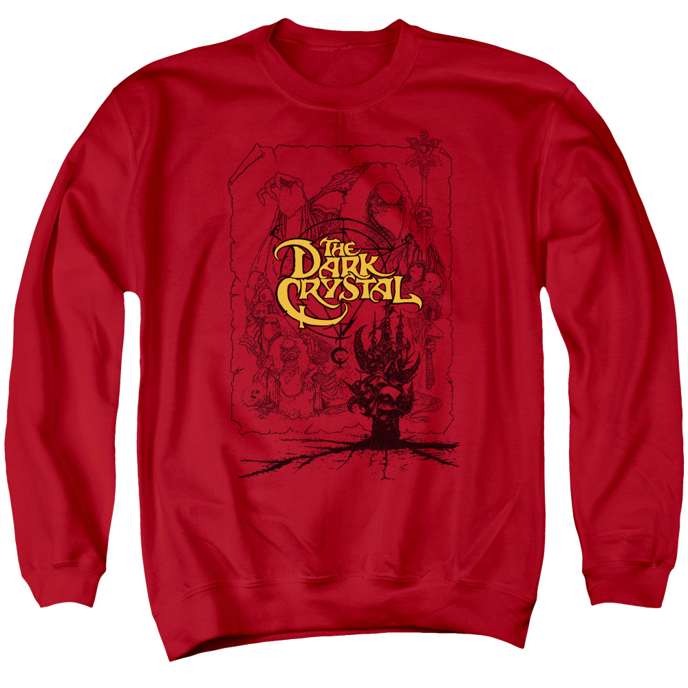 The Dark Crystal Poster Lines Sweatshirt