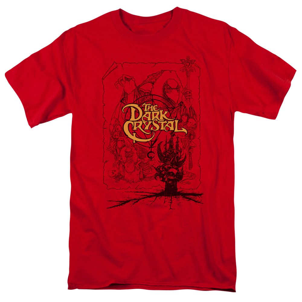 The Dark Crystal Poster Lines T-Shirt