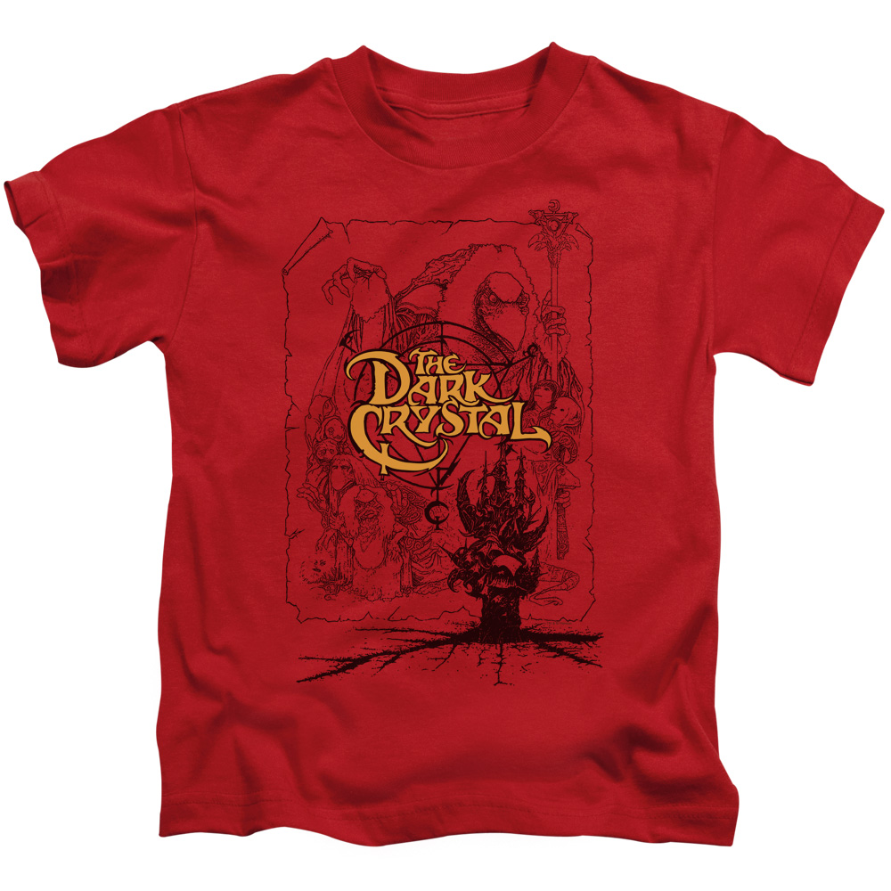 The Dark Crystal Poster Lines Juvy T-Shirt