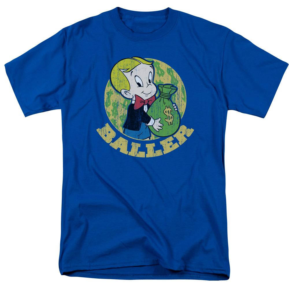 Richie Rich Baller Balling Big Money Bag T-Shirt