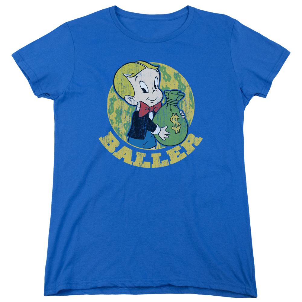 Richie Rich Baller Balling Big Money Bag Women's T-Shirt