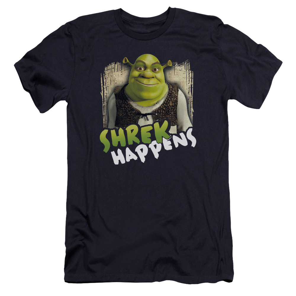 Happens Shrek Premium Slim Fit T-Shirt