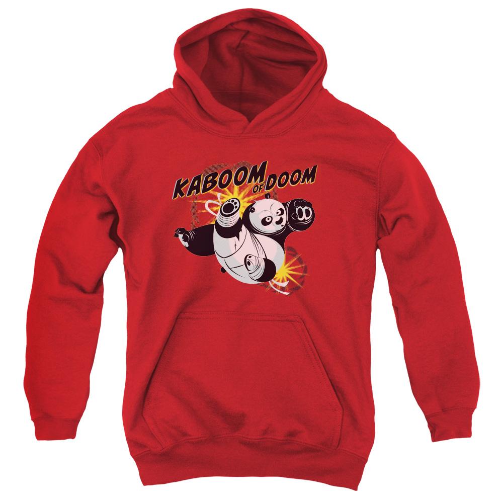 Kaboom Of Doom Kung Fu Panda Kids Hoodie
