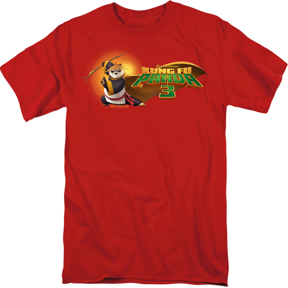 Po Logo Kung Fu Panda T-Shirt