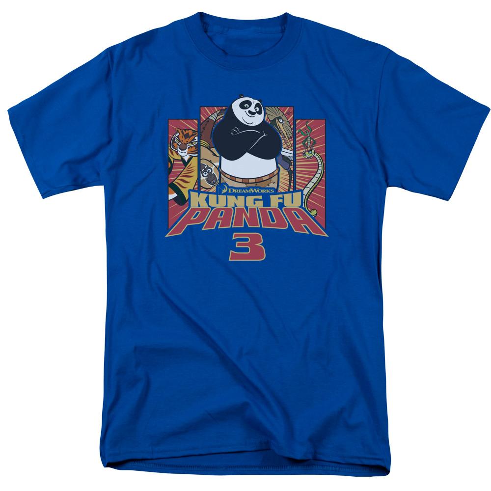 Kung Furry Kung Fu Panda T-Shirt