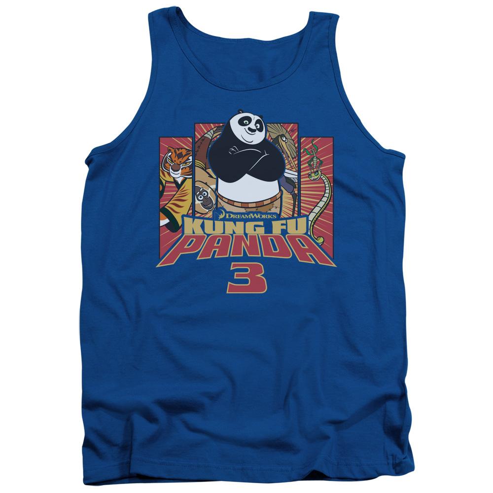 Kung Furry Kung Fu Panda Tank Top