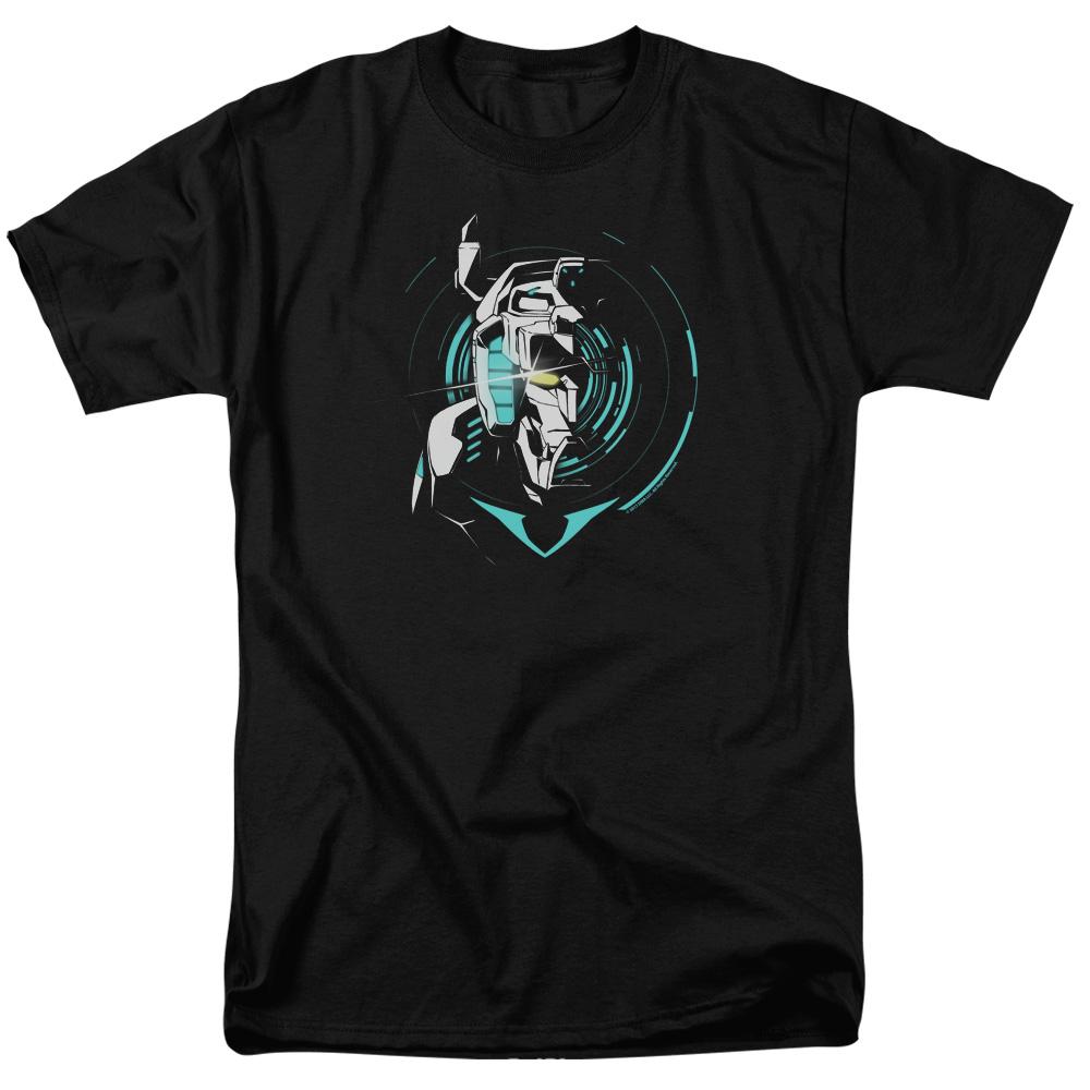 Defender Noir Voltron T-Shirt