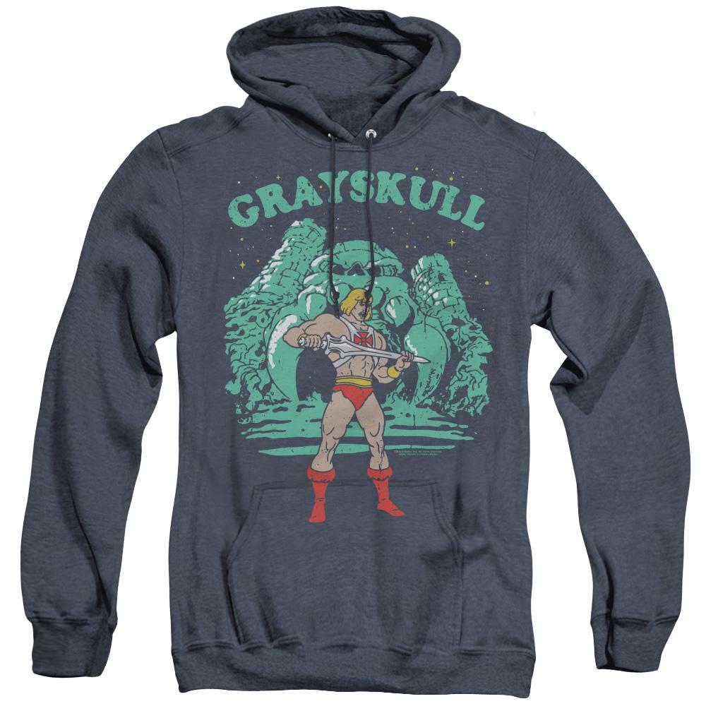 Masters of the Universe Grayskull Nights Adult Heather Hoodie