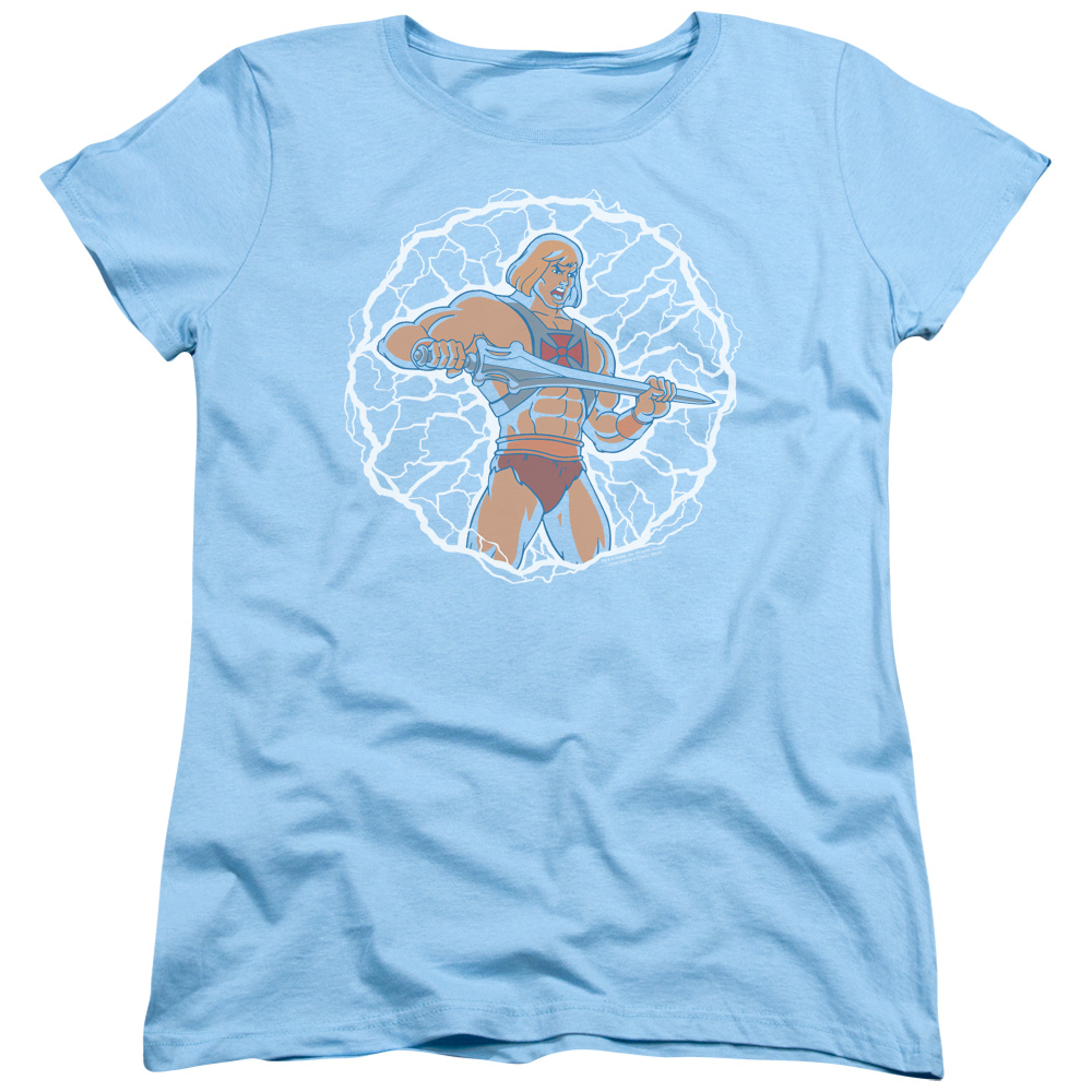 Masters of the Universe Lightning Power Women's T-Shirt