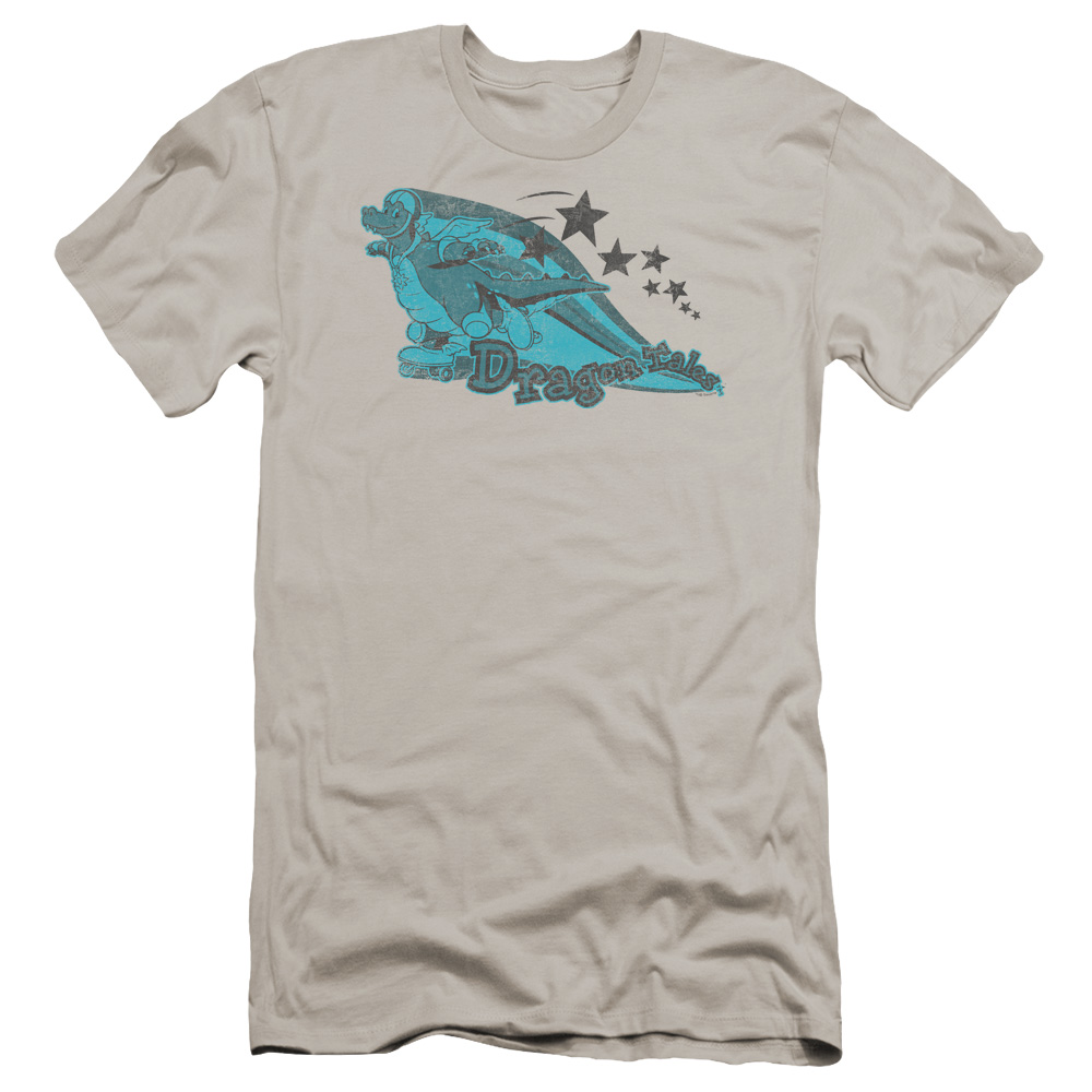 Dragon Tales ORD Skates Premium Slim Fit T-Shirt