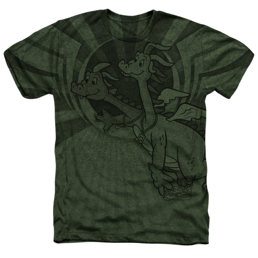 Dragon Tales Flight Heather T-Shirt