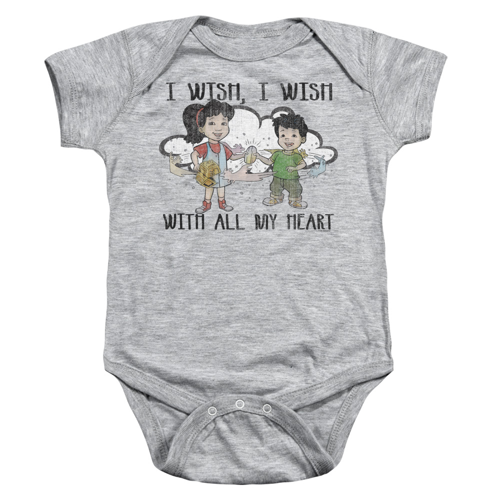 Dragon Tales I Wish With All My Heart Baby Bodysuit