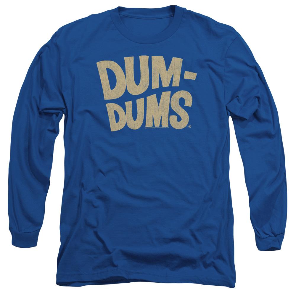 Dum Dums Distressed Logo Long Sleeve Shirt