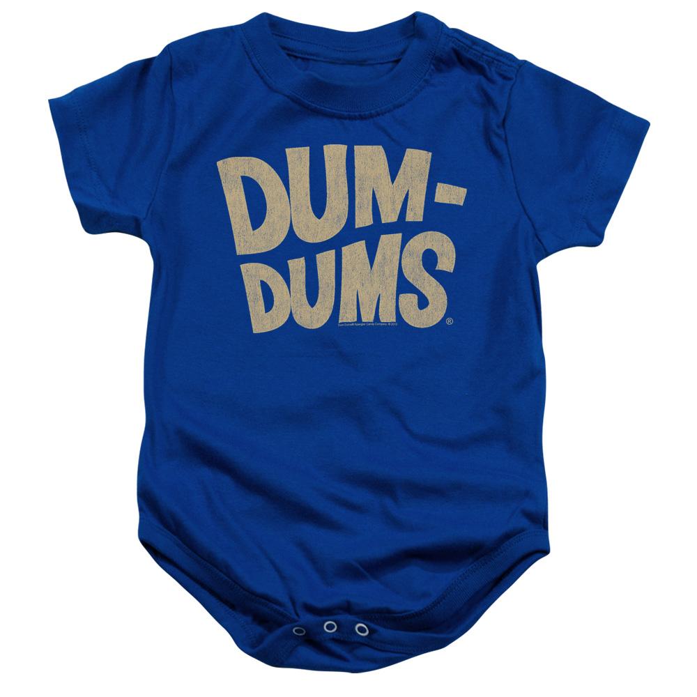 Dum Dums Distressed Logo Baby Bodysuit