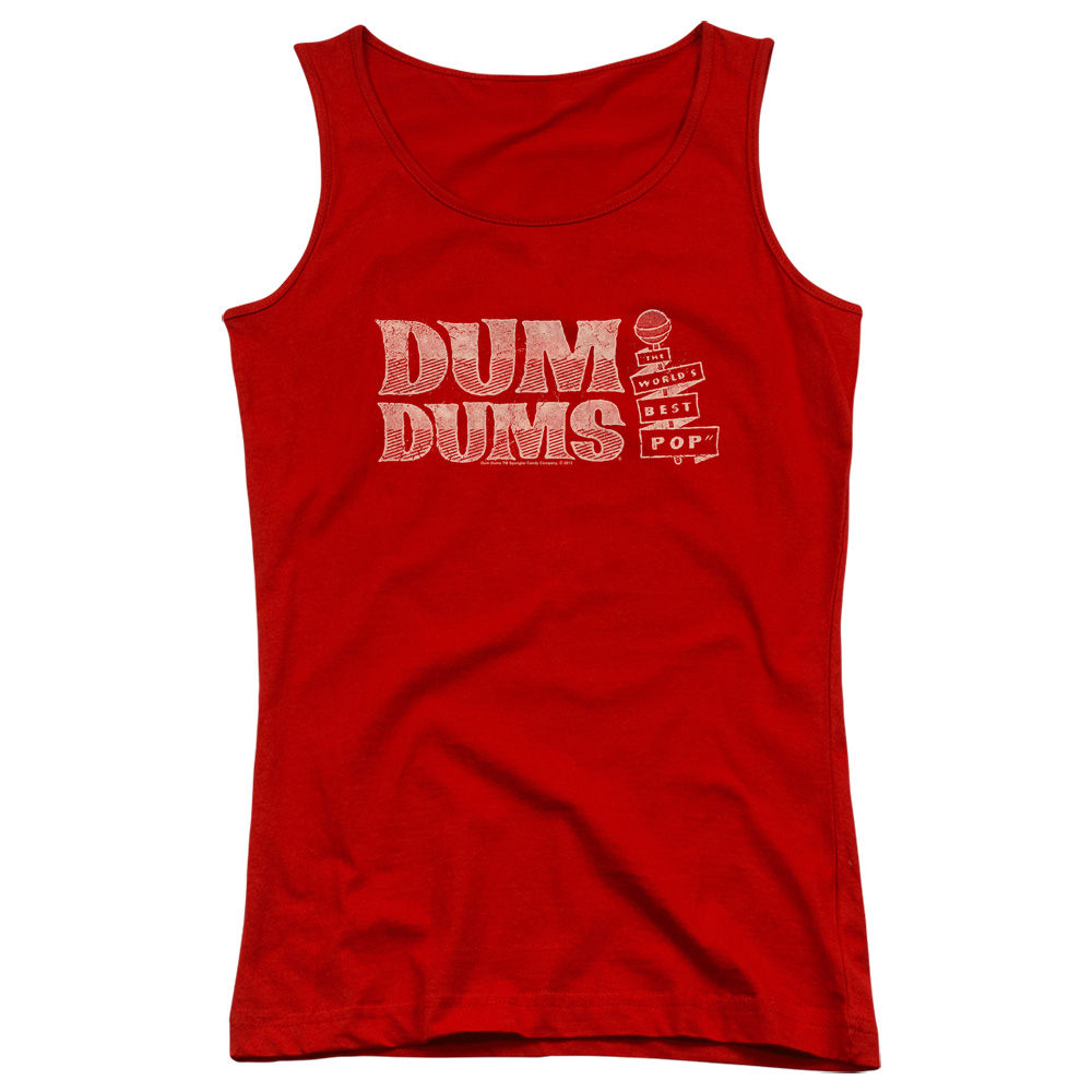 World's Best Dum Dums Juniors Tank Top