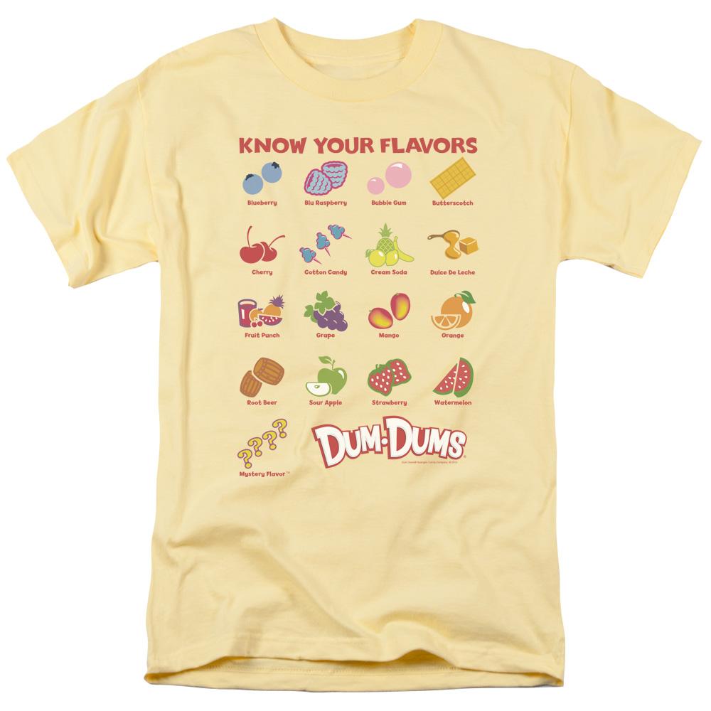 Dum Dums Flavors