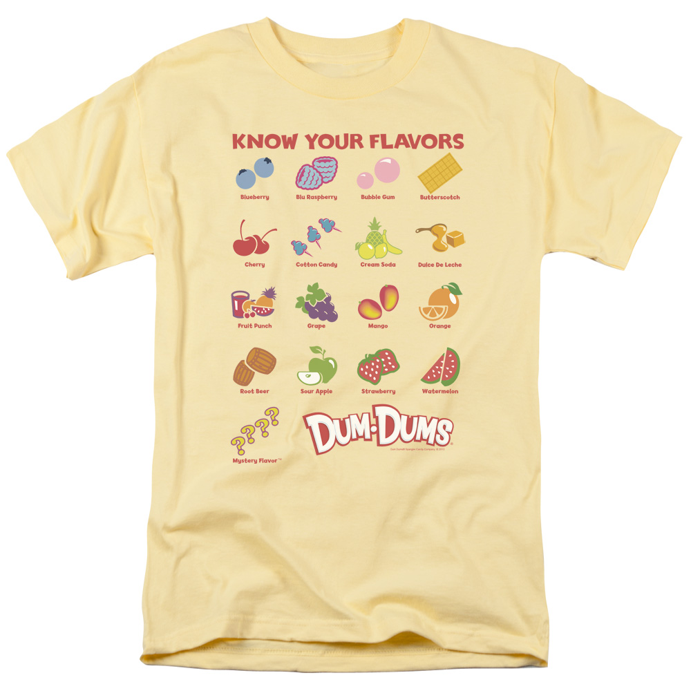Dum Dums Flavors T-Shirt