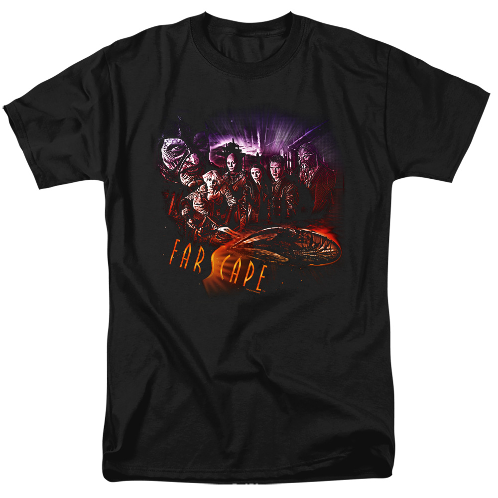 Farscape Graphic Collage T-Shirt