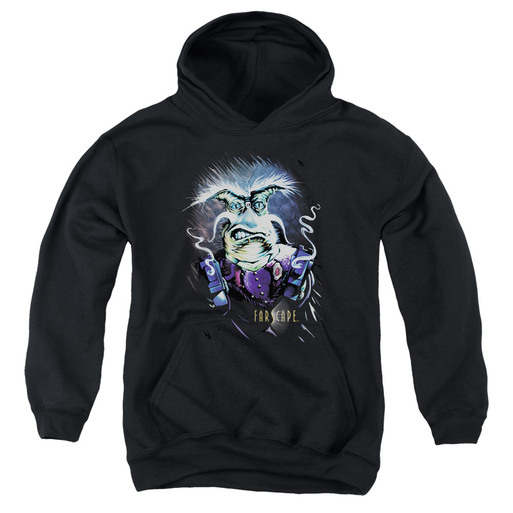 Farscape Rygel Smoking Guns Kids Hoodie