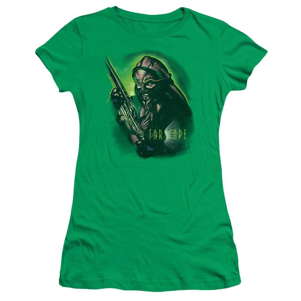 Farscape Dargo Warrior Action Junior Fit T Shirt
