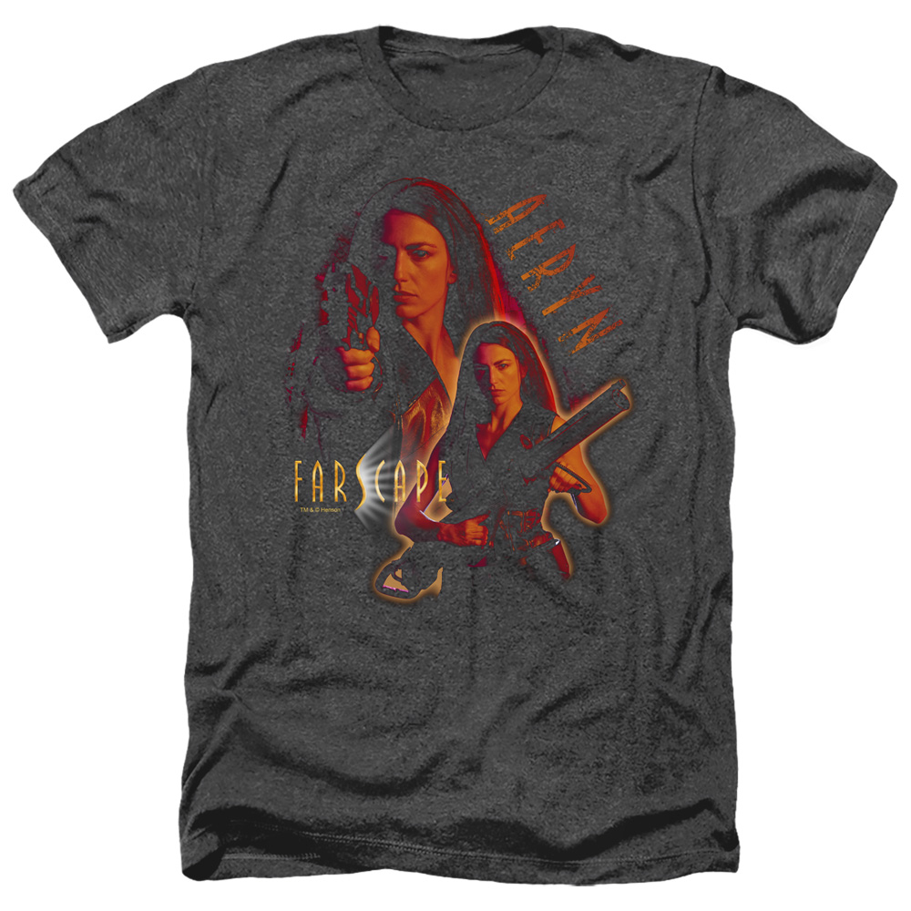 Farscape Aeryn Heather T-Shirt