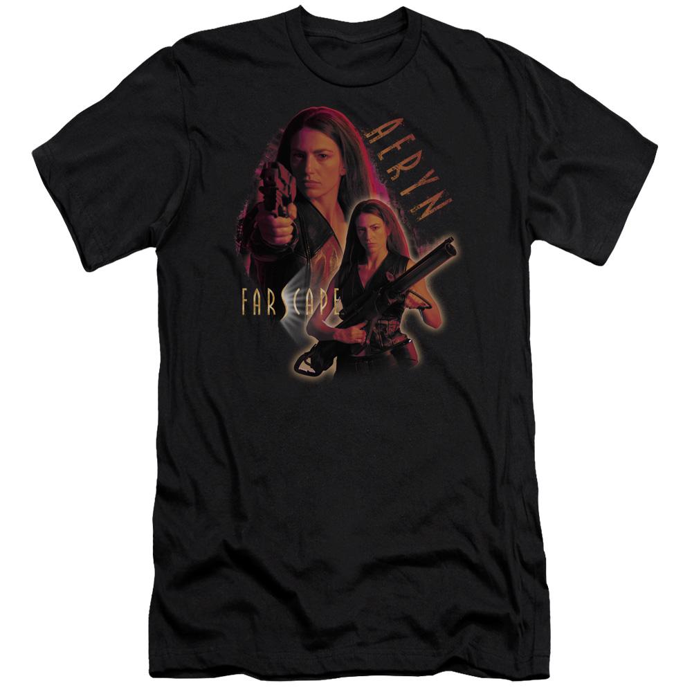 Farscape Aeryn Slim Fit T-Shirt