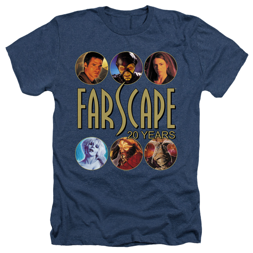 Farscape 20 Years Heather T-Shirt