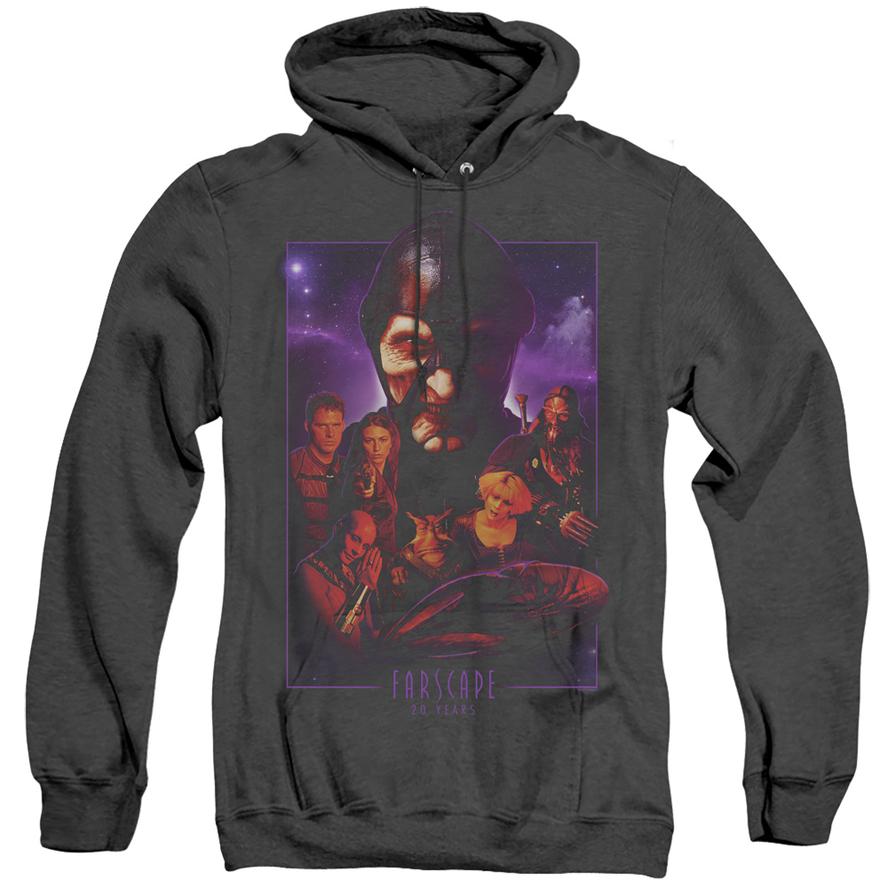 Farscape 20 Years Collage Adult Heather Hoodie