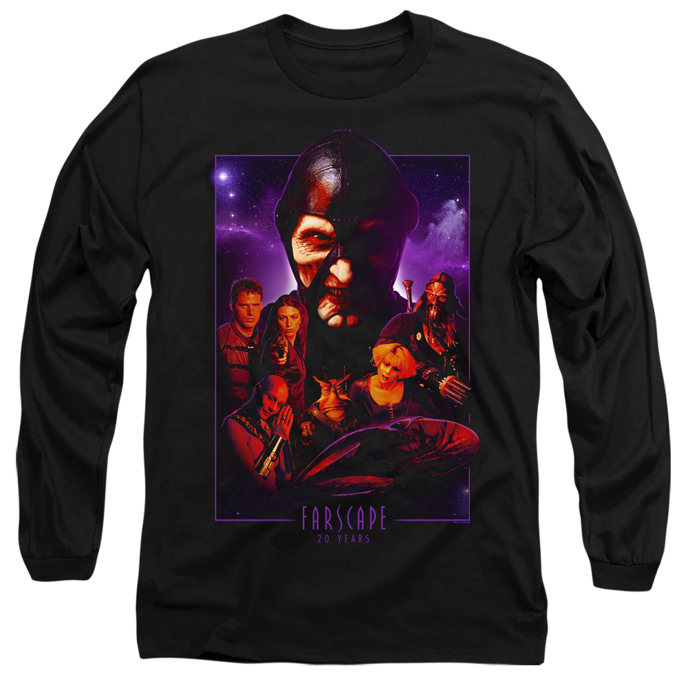 Farscape 20 Years Collage Long Sleeve Shirt