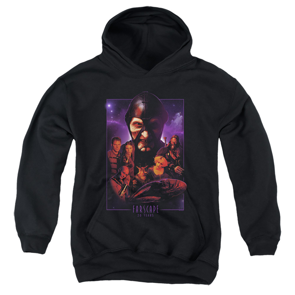 Farscape 20 Years Collage Kids Hoodie