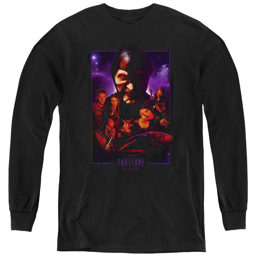 Farscape 20 Years Collage Kids Long Sleeve Shirt