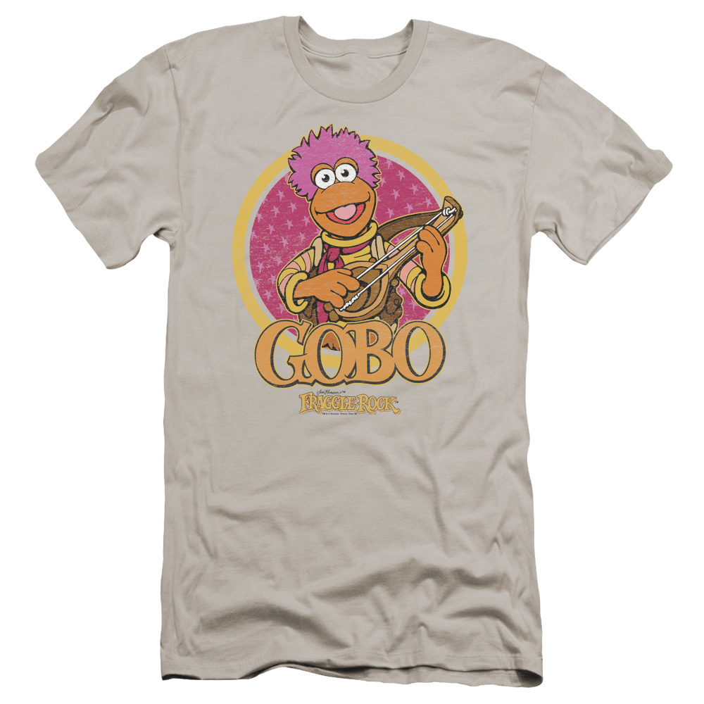 Gobo Circle Fraggle Rock Premium Slim Fit T-Shirt