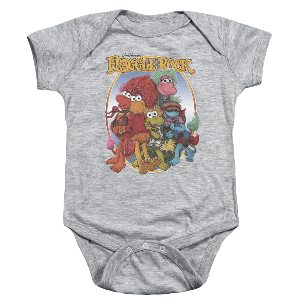 Group Hug Fraggle Rock Baby Bodysuit