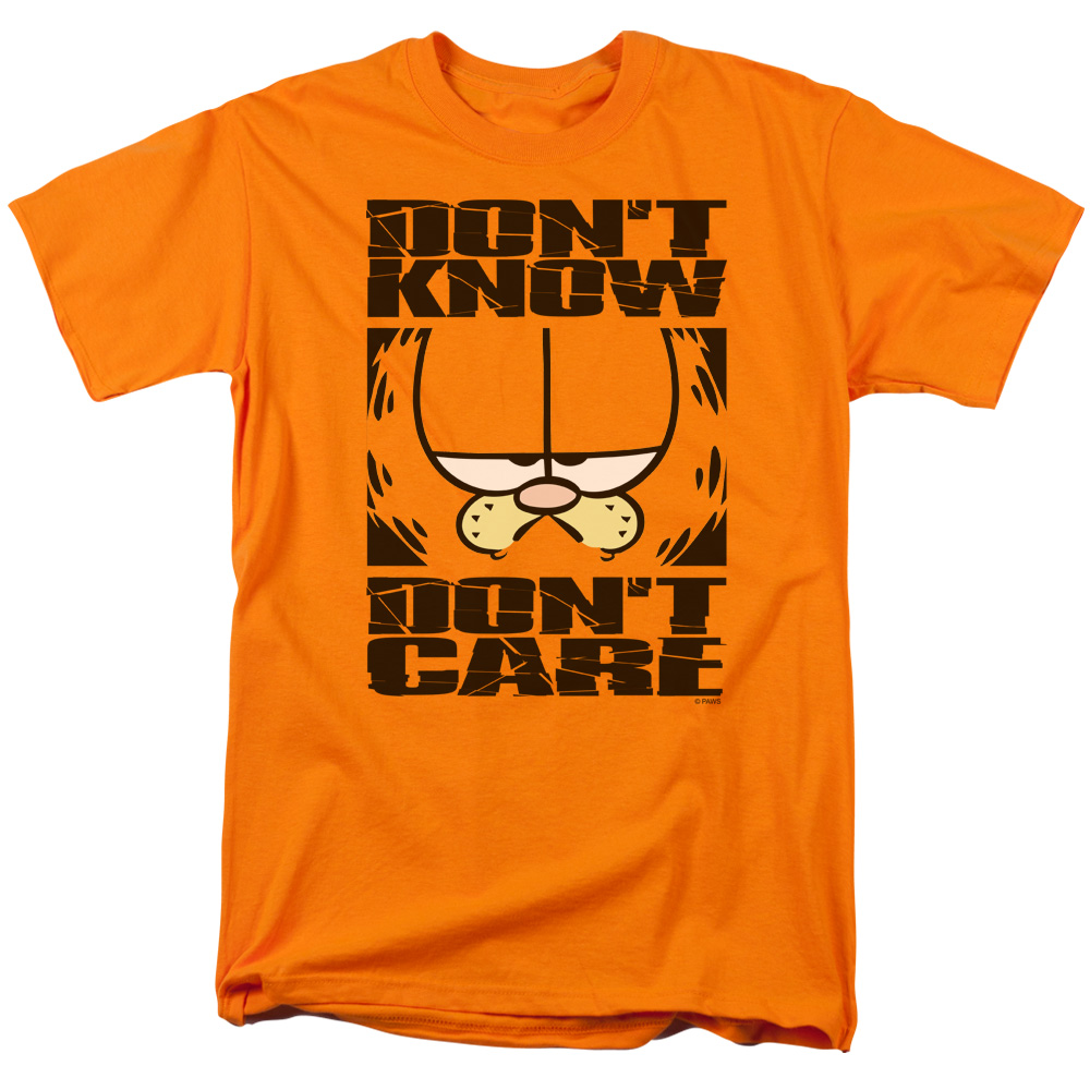 Garfield Dont Know Dont Care T-Shirt