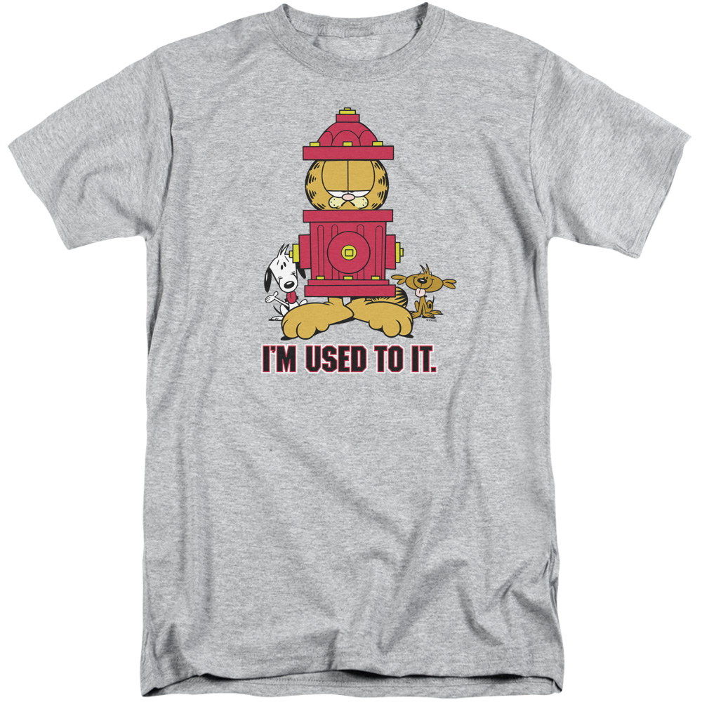 Garfield Im Used To It Tall T-Shirt