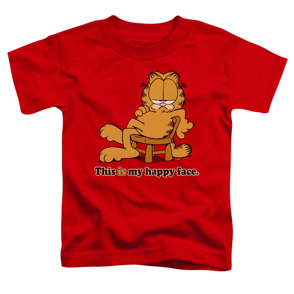 Garfield Happy Face Toddler T-Shirt