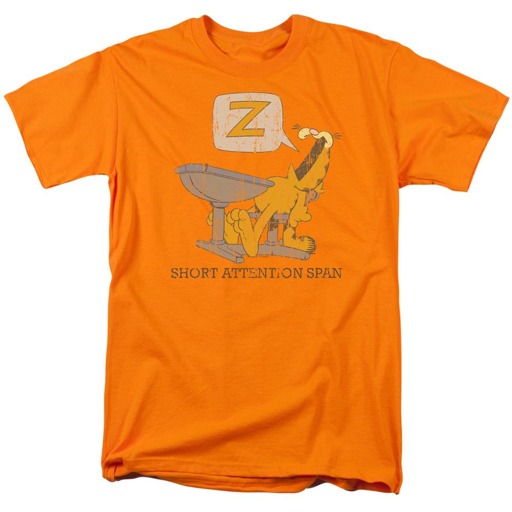 Garfield Attention Span T-Shirt